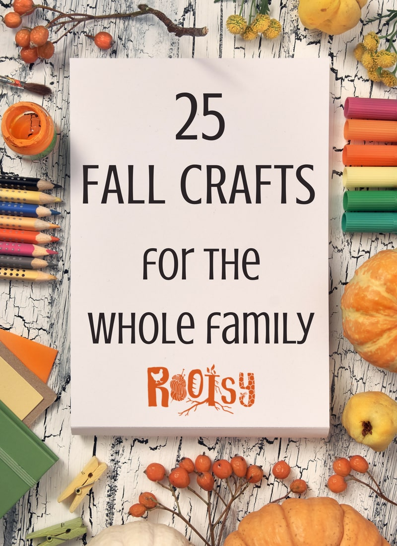 image of fall crafts for family