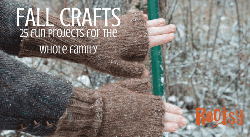 Looking for fall crafts for the homestead? We have you covered with fall crafts for kids, knitters and crocheters, woodworkers and more.