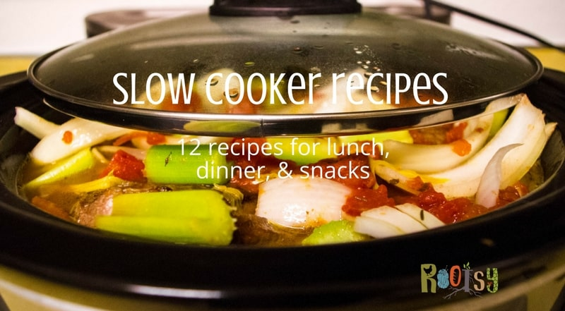 The slow cooker is an indispensable tool for my kitchen. With these 12 fabulous slow cooker recipes, it will be indispensable in your kitchen too | Rootsy.org