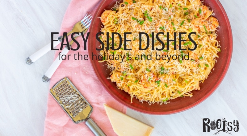 Try a new recipe during the holidays this year. Who knows, these easy side dishes could start a new family tradition that you'll want to make all year | Rootsy.org