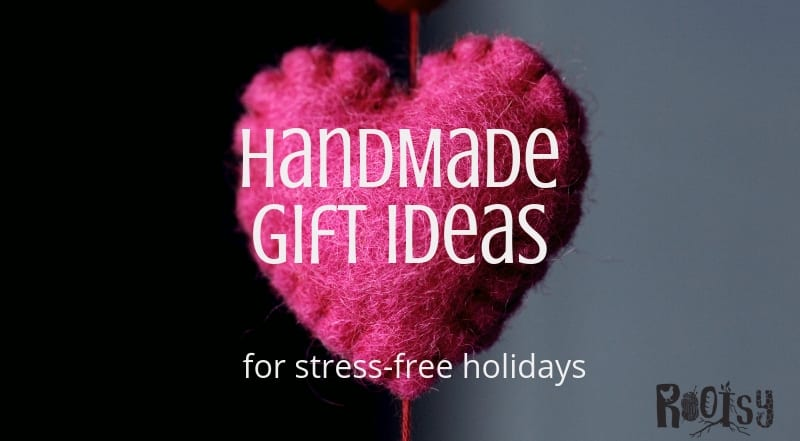 Longing for a handmade holiday? It's not as hard or as time-consuming as you might think. Get DIY gift basket ideas and handmade gift ideas for a stress-free holiday season.