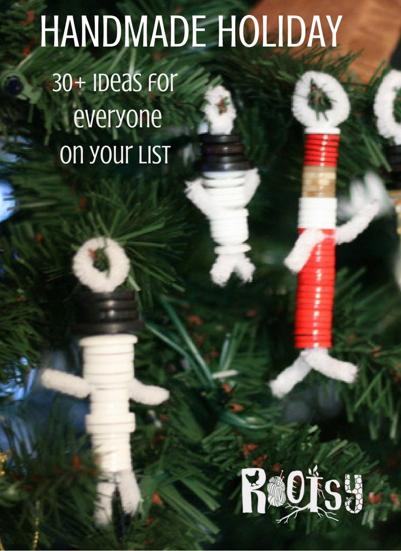 Longing for a handmade holiday? It's not as hard or as time consuming as you might think. Get ideas for everyone on your list!