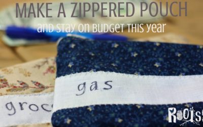 How to make lined zippered pouches