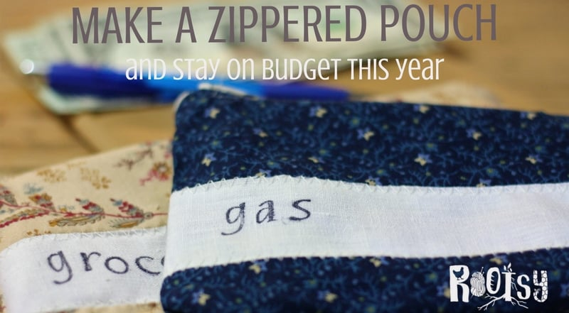 image of diy zippered envelopes for living debt free