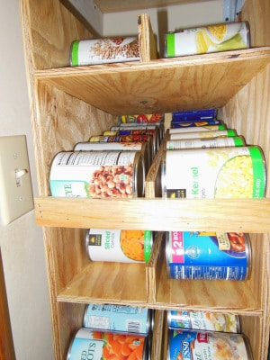 DIY Can Rack for the Organized Homestead - Rootsy