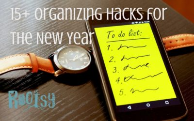 15+ Organizing Hacks for the New Year