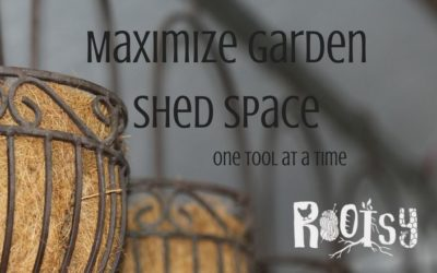 How to Maximize Garden Shed Space