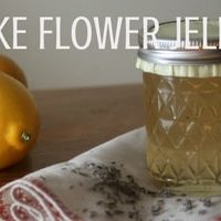 Make Flower Jellies to Preserve Blooms as Food