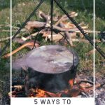 Learn how to cook outdoors