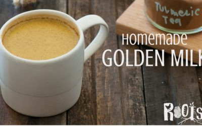 Homemade Golden Milk (aka: Turmeric Tea) Recipe
