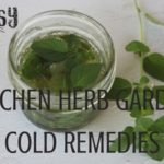 Fight illness naturally by making kitchen herb garden cold remedies with these common culinary herbs and easy preparation methods | Rootsy.org