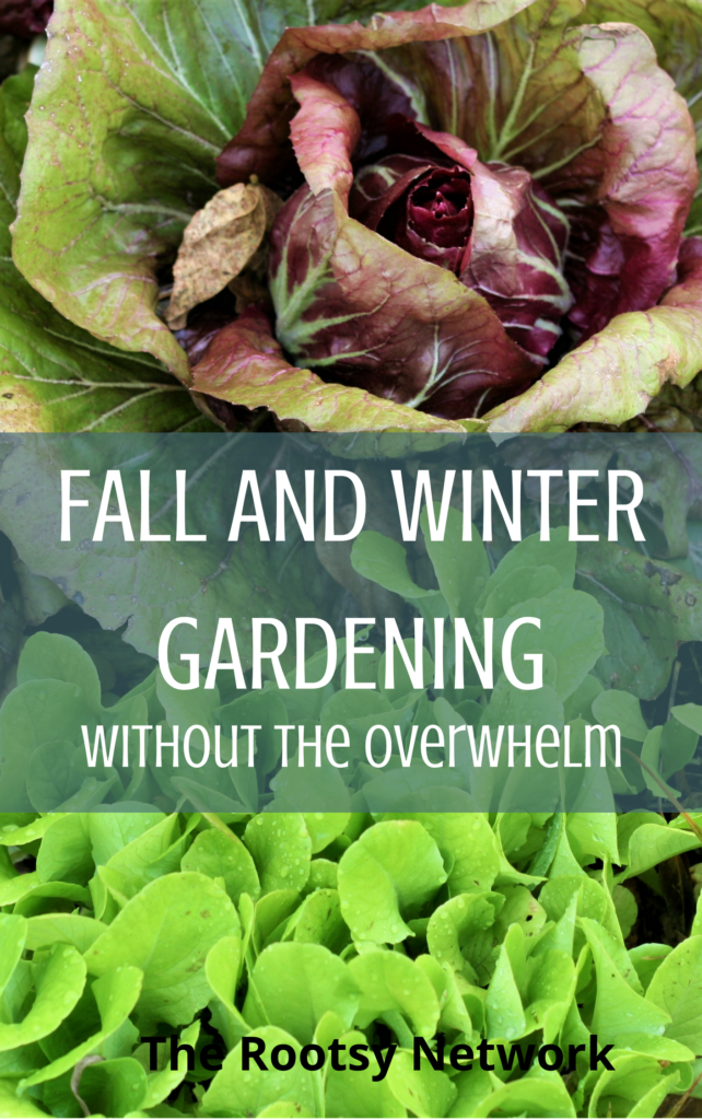 Fall and Winter Gardening Ebook Cover.