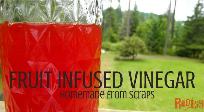 how to make fruit vinegar