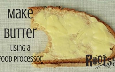 How to Make Butter Using a Food Processor