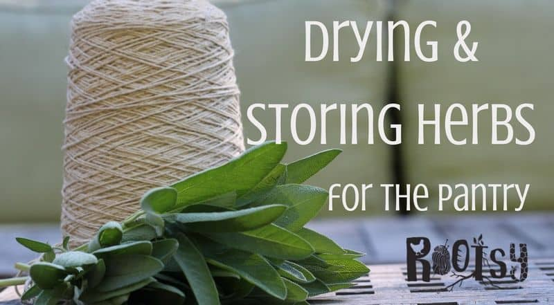 When it comes down to it, drying and storing herbs for the pantry keep the flavors of summer preserved for the fall and winter months.| rootsy.org