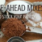 We've found a collection of homemade make-ahead mixes that you'll love. Spend an afternoon and stock your pantry with make-ahead mixes that will save time and money. Plus, you control the ingredients so it's a win all around! Rootsy.org