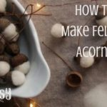Felted acorns are simply adorable! The tiny woolen acorns are very quick to create and also make lovely homemade gifts. With a cute acorn cap and a bit of wool, you can easily craft cute ornaments to use in fall or holiday decor, as gift tags, or as a beautiful handmade gift. Follow the instructions below to make your own felted acorns (and don't forget to grab your free printable cheat sheet)! | rootsy.org