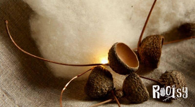 felted acorns fb5 | rootsy.org