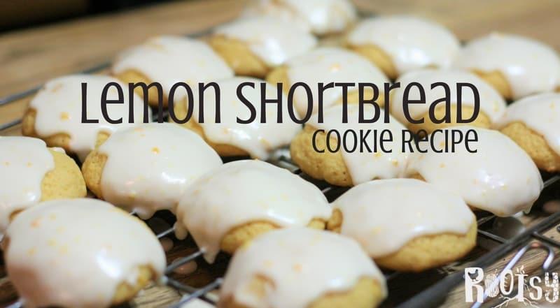 Lemon Shortbread Cookie Recipe