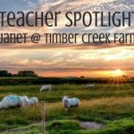 This month, we are honored to present Janet Garman, a long time farmer, fiber artist, and author at Timber Creek Farm. Janet studied Animal Science in college and loves working the farm | Rootsy.org