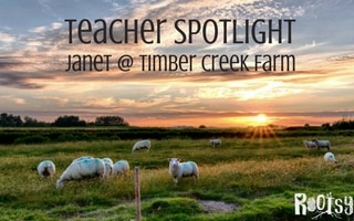 Teacher Spotlight: Janet Garman from Timber Creek Farm