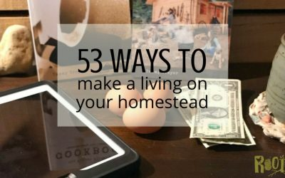 53 Ways to Make a Living on Your Homestead
