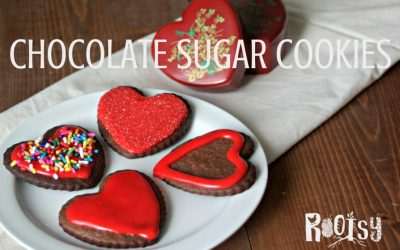 A Chocolate Sugar Cookie Recipe for Your Sweetheart