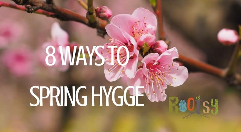 "It seems like all you hear about all winter anymore is ""hygge."" What's hygge? Hygge is a Danish concept of living a cozy life, enjoying the simple things, and good food. Think comfy blankets, lots of candles, books, thick wooly socks, and comfort food. While this is usually a winter concept, check out these 8 Ways to Spring Hygge. 