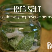 Make Herb Salt