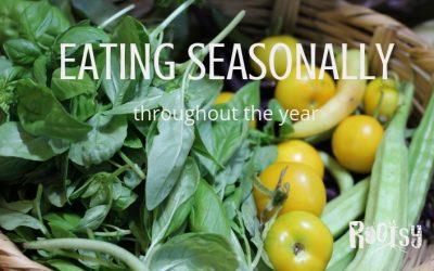 Eating seasonally to Save Time and Money