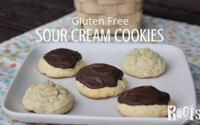 Gluten Free Sour Cream Cookies