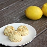 Gluten-Free Lemon Coconut Oatmeal Cookies