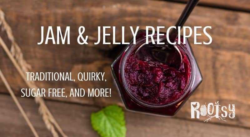 Jam and Jelly Recipes - Traditional, quirky, sugar free, and more! - Rootsy