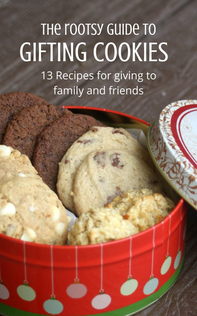 The cover of the Rootsy Guide to Gifting Cookies