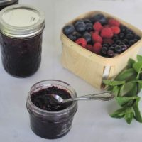 Mint & Mixed Berry Jam