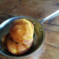 Gluten Free Pumpkin Pancakes with Ginger Honey Butter