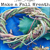 Fall project: How to Make a Wreath