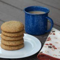Chai Spice & Cream Cookies