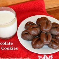 Chocolate Coffee Cookies