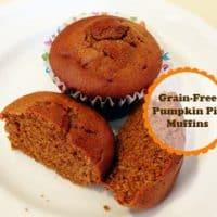 Grain Free Pumpkin Pie Muffins