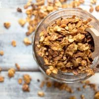 Homemade Maple Pumpkin Spice Cereal