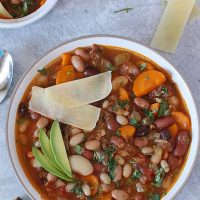 Instant Pot 15 Bean Soup - Vegetarian- Cooking Carnival