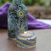 Transform Recycled Jars into Pretty Decor, Candle Holders, or Gift Packaging