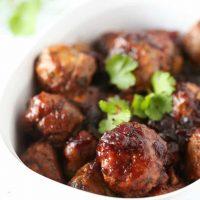 Chili Cranberry Fusion Meatballs
