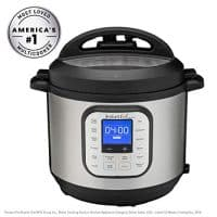 Instant Pot - 6-Quart 7-in-1, One-Touch Multi-Use Programmable Pressure Cooker