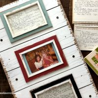 Old Family Recipe Cards: How to Create DIY Kitchen Art