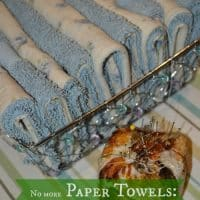 Ditch Your Paper Towels and Make Unpaper Towels for Free
