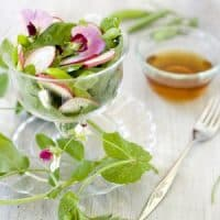 Radish Sweet Pea Salad Recipe