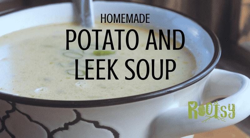 Easy Homemade Potato Leek Soup Recipe