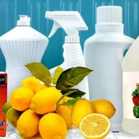 6 DIY Non Toxic Cleaning Recipes